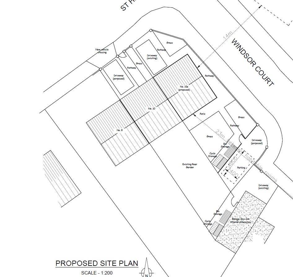 Floorplans For PLOT WITH PLANNING - WICK ( GDV £285K )