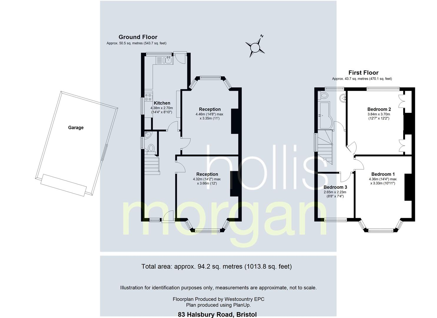 Floorplans For FAMILY HOME - CORNER PLOT - BS6