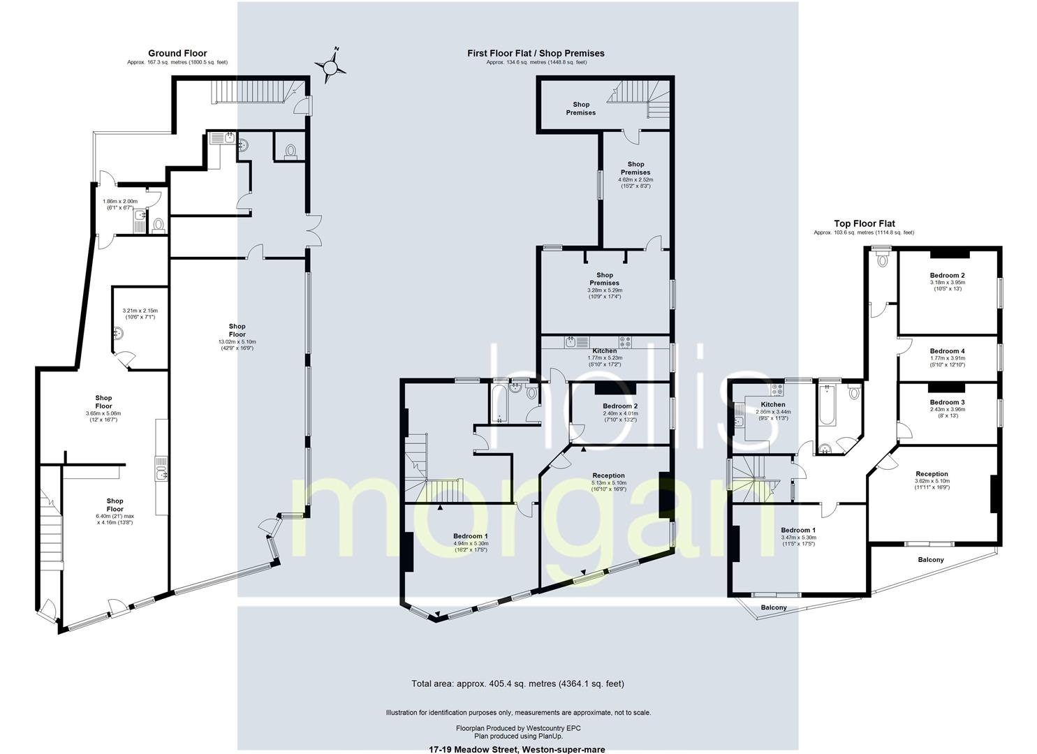 Floorplans For 2 FLAT / 2 SHOPS - CLOSE TO BEACH WSM