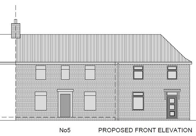 Floorplans For PLANNING GRANTED - 2 BED HOUSE