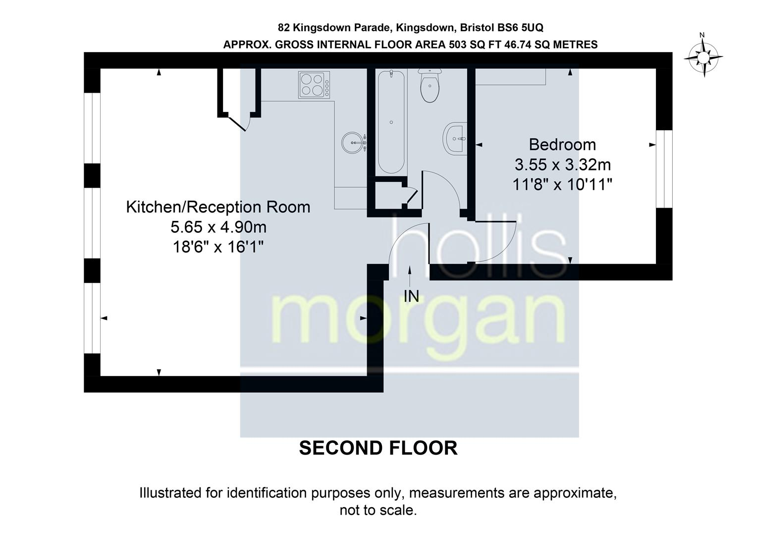 Floorplans For Kingsdown Parade, Kingsdown
