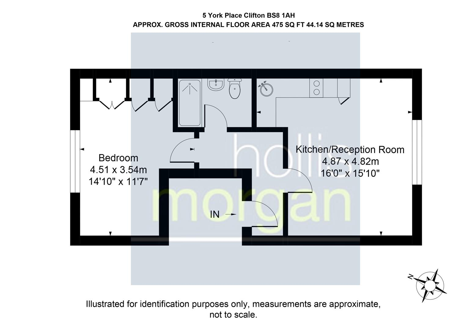 Floorplans For York Place, Clifton