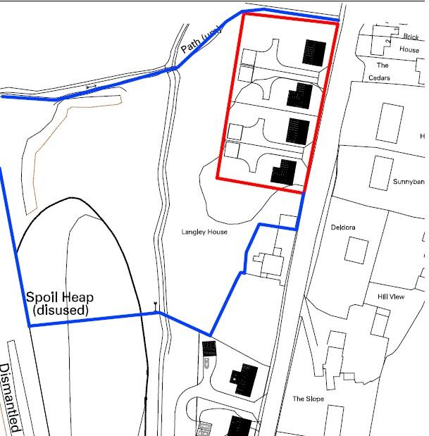 Floorplans For PLANNING GRANTED - 4 DETACHED HOUSE - DRYBROOK
