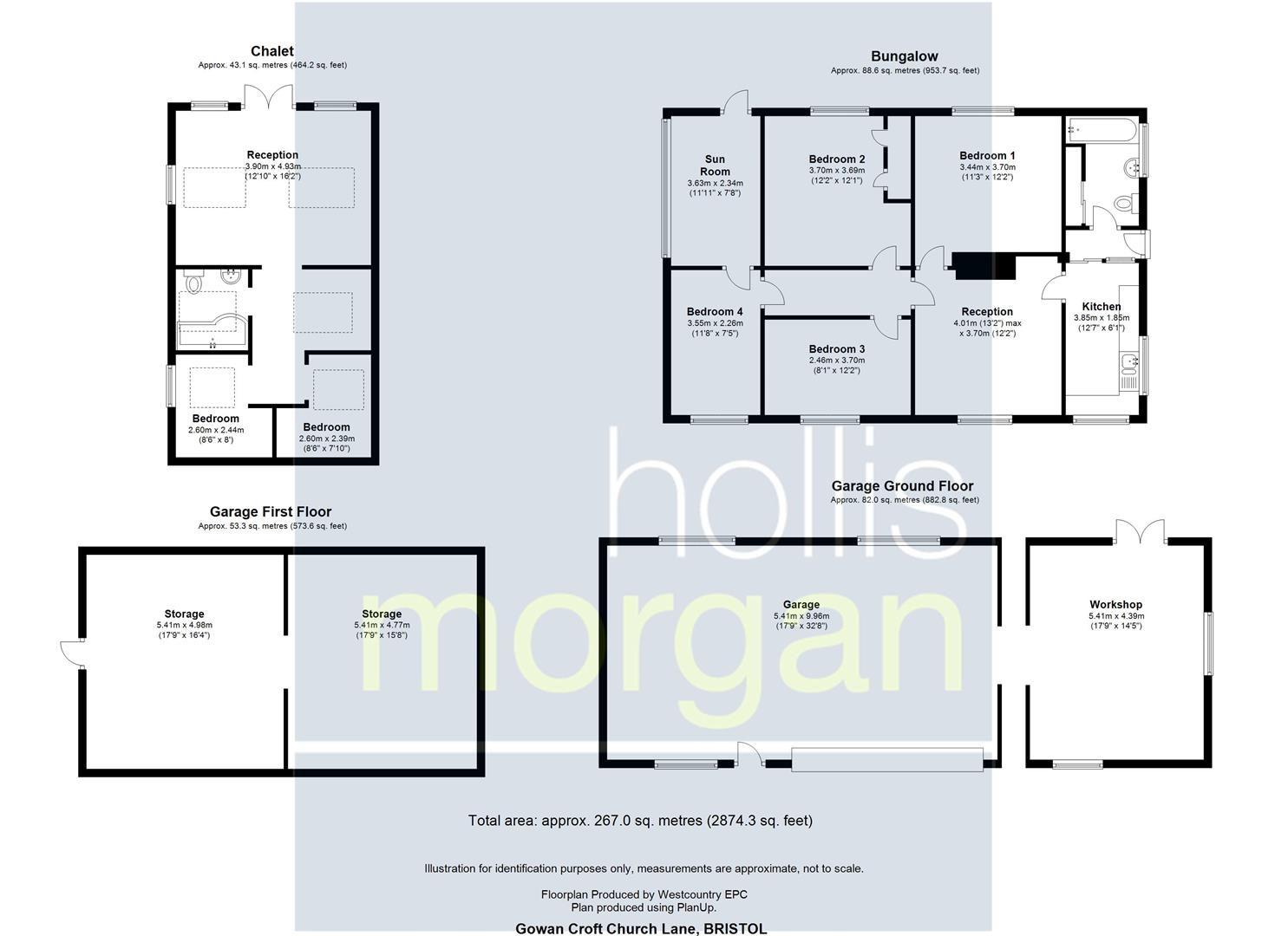 Floorplans For GRAND DESIGNS - LOWER FAILAND