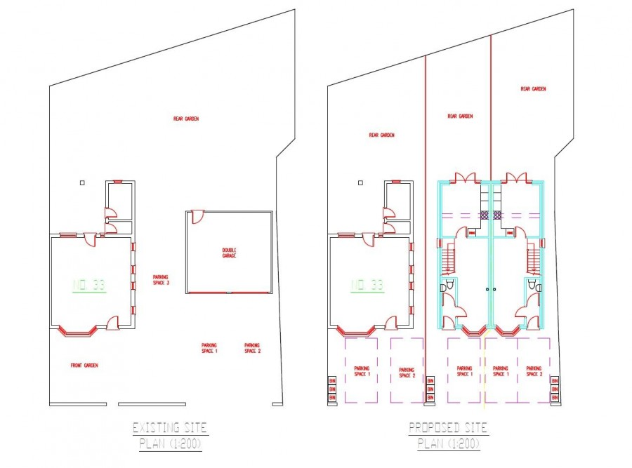 Images for PLANNING GRANTED - 2 X 2 BED HOUSES EAID:hollismoapi BID:11