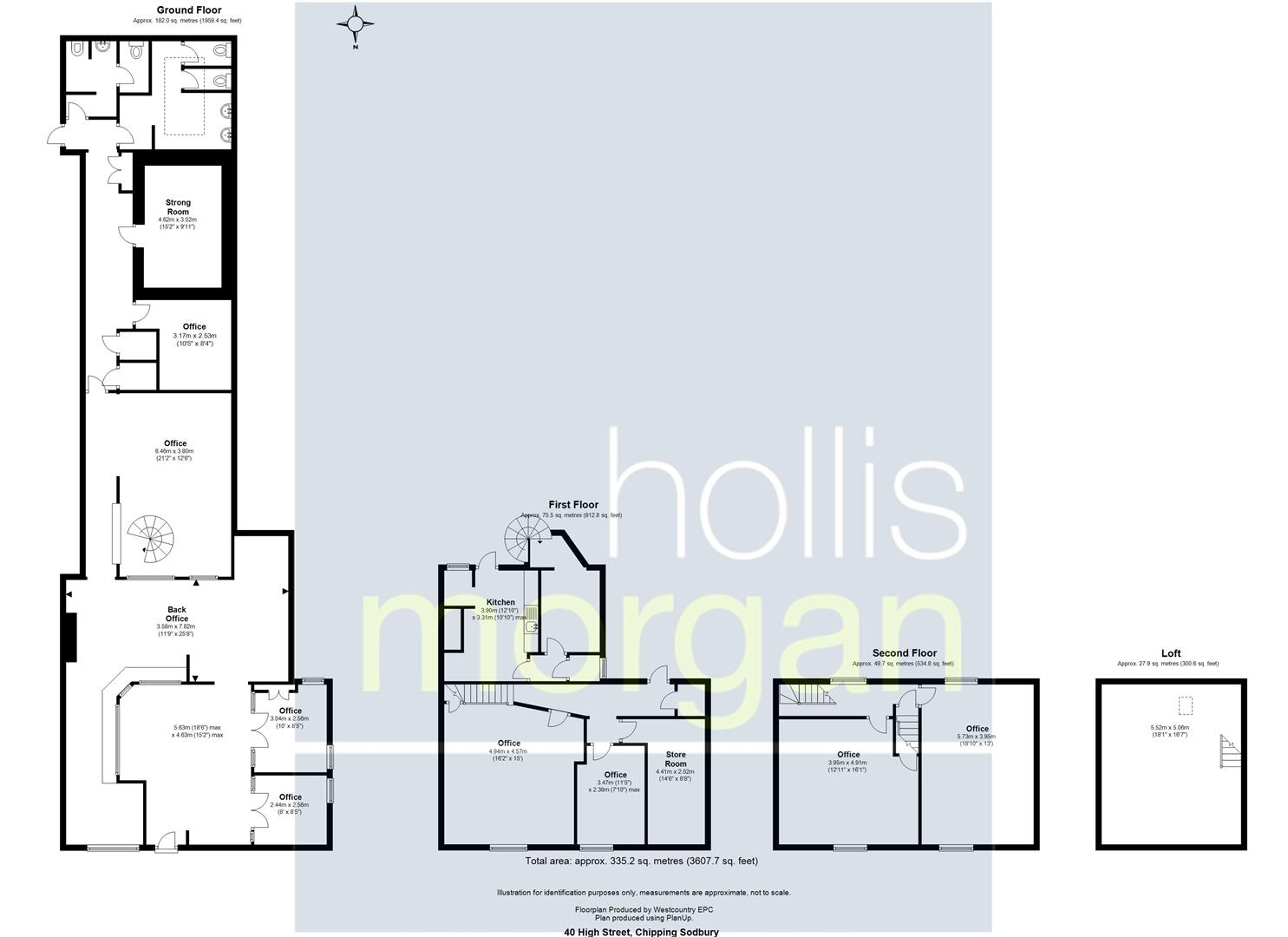 Floorplans For HUGE POTENTIAL - CHIPPING SODBURY HIGH ST