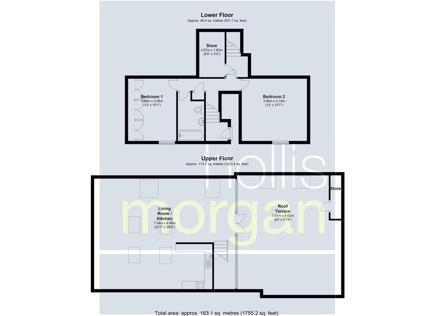 Floorplans For PENTHOUSE - REDUCED PRICE FOR AUCTION