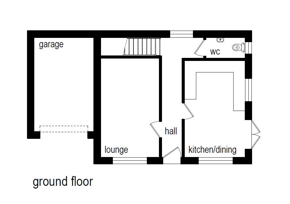 Floorplans For PLANNING GRATED - DETACHED 4 BED