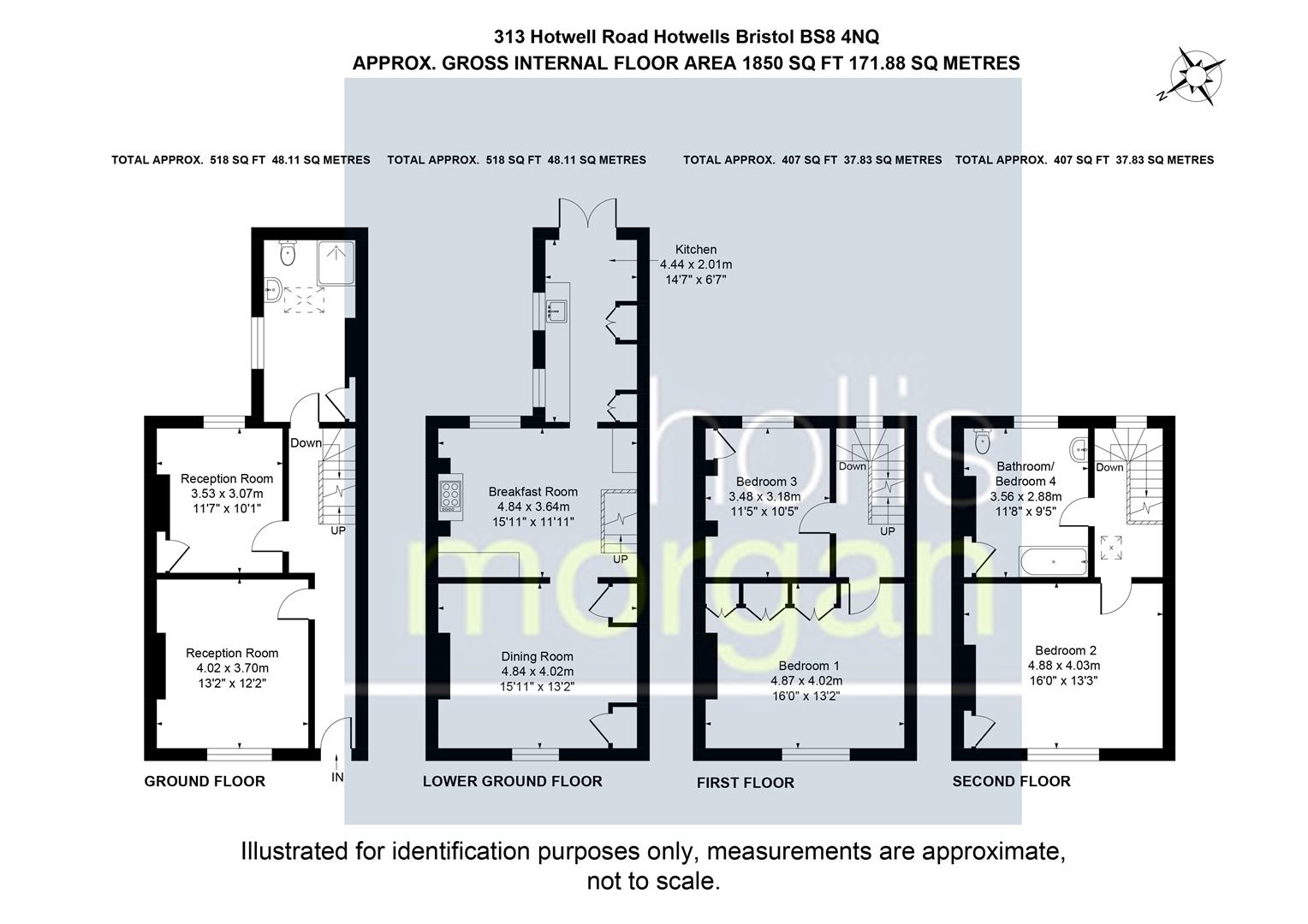 Floorplans For Dowry Parade, Hotwells