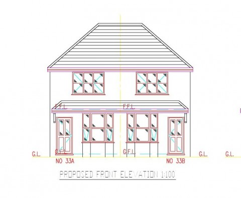 View Full Details for PLANNING GRANTED - 2 X 2 BED HOUSES                                        - EAID:hollismoapi, BID:21