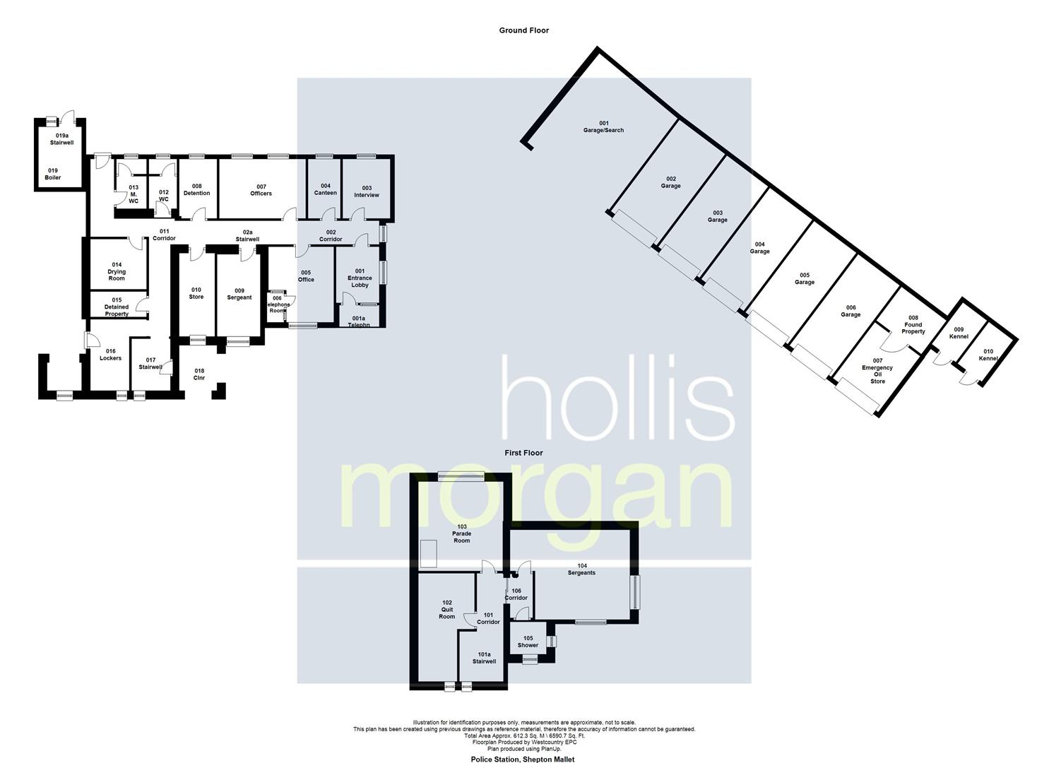 Floorplans For POLICE STATION - DEVELOPMENT POTENTIAL