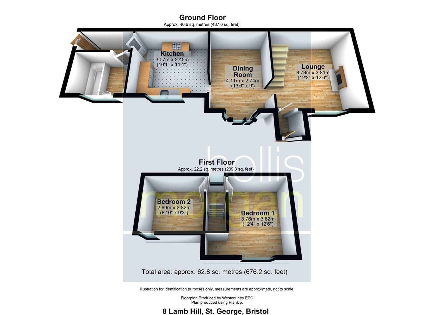 Floorplans For SECRET WOODLAND COTTAGE