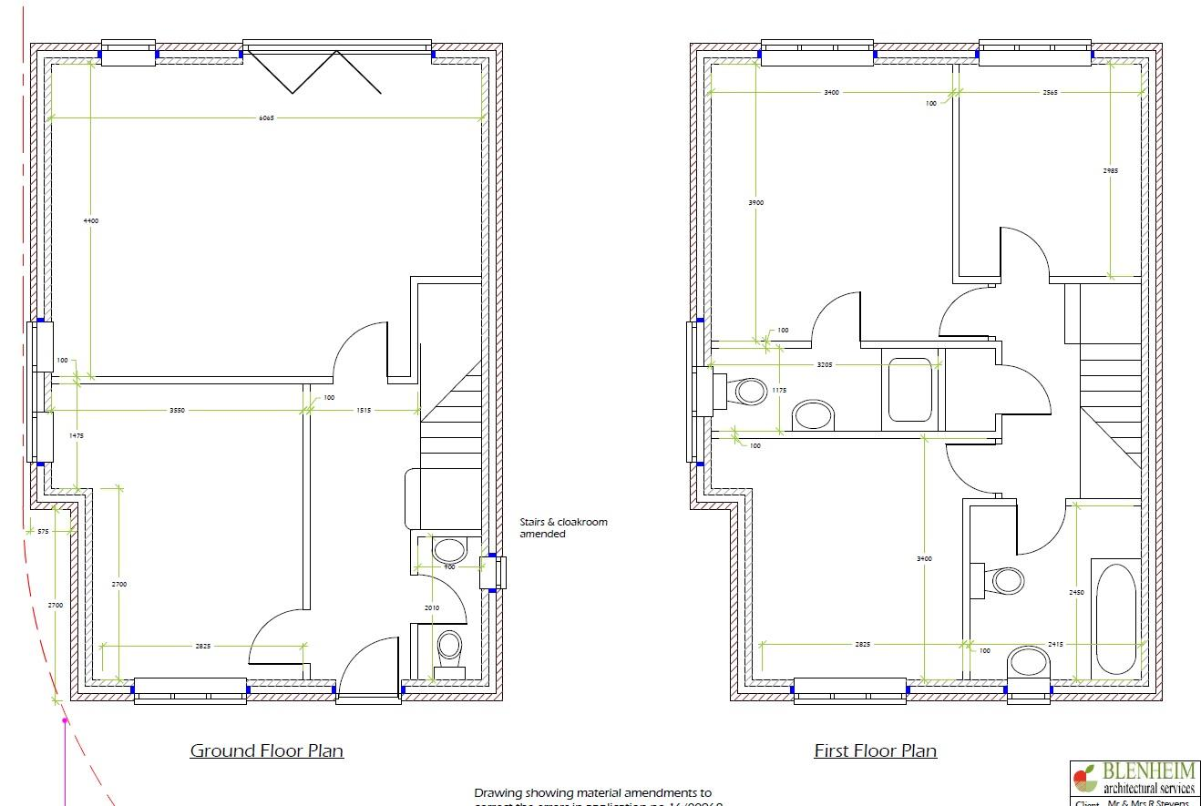 Floorplans For PLOT - PLANING GRANTED DETACHED 3 BED
