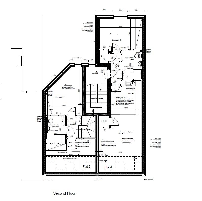 Floorplans For DEVELOPMENT SITE - PLANNING GRANTED
