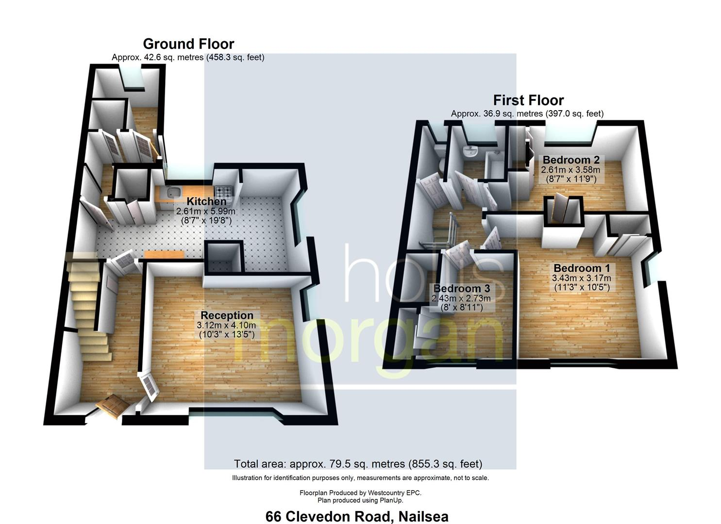 Floorplans For HOUSE + PLOT COMBO - NAILSEA