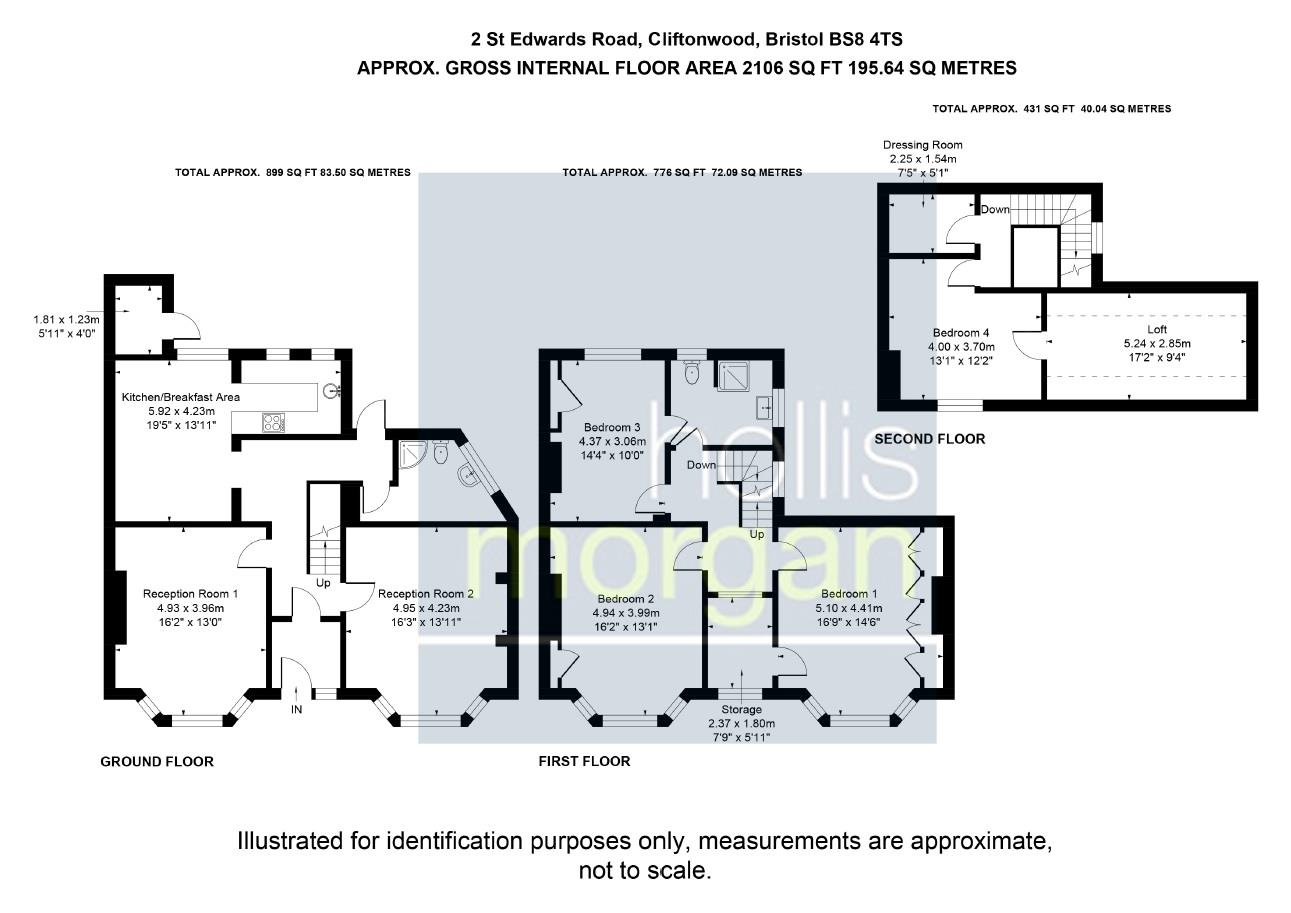 Floorplans For St Edwards Road, Cliftonwood