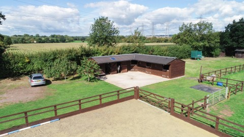 View Full Details for 5.85 ACRES OF EQUESTRIAN LAND & STABLES                                        - EAID:hollismoapi, BID:21