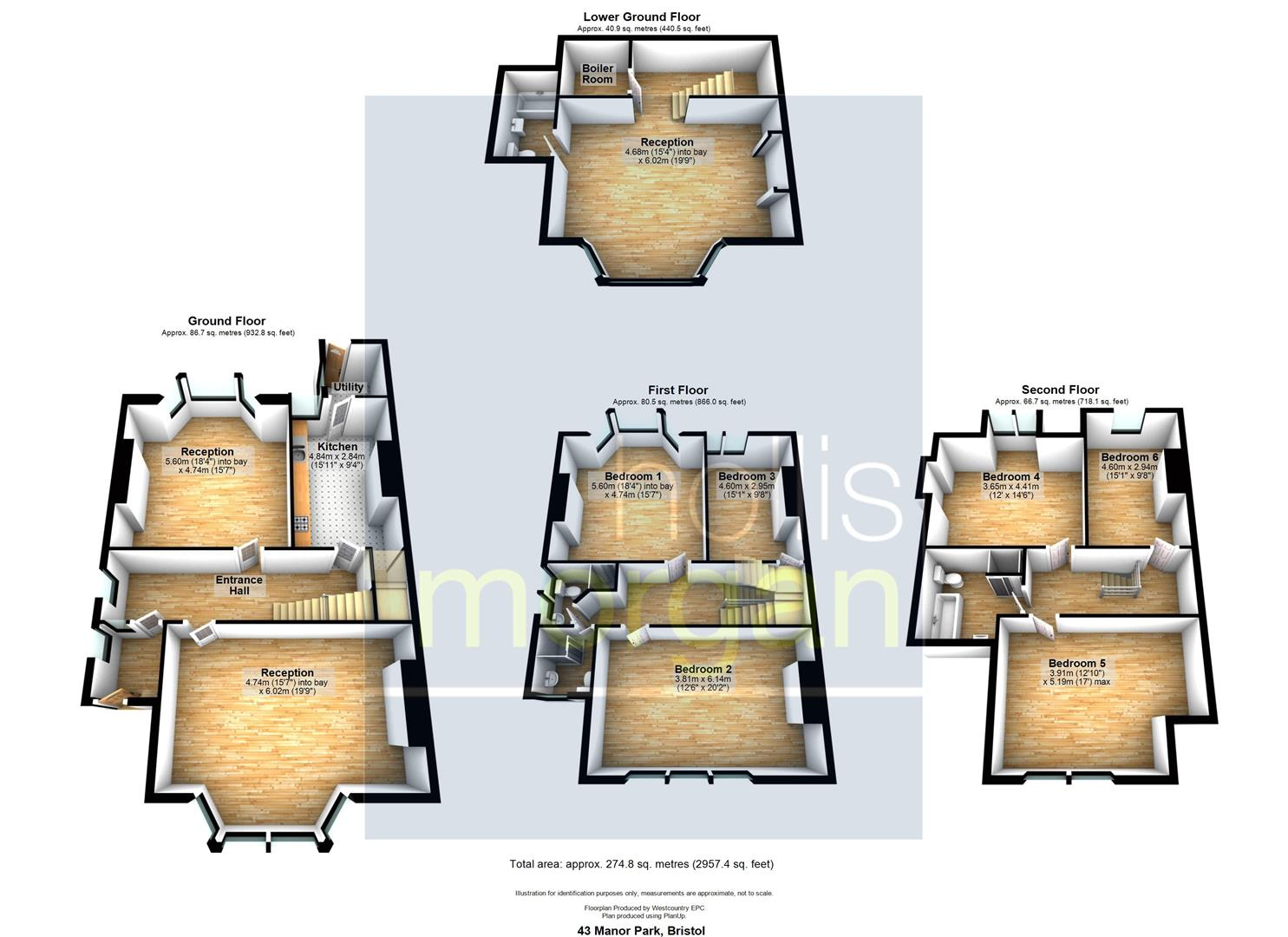 Floorplans For STUDENT HMO - REDLAND