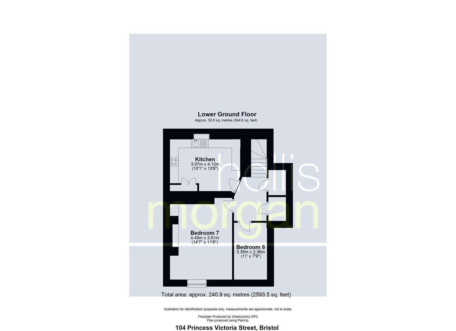 Floorplans For STUDENT HMO - CLIFTON VILLAGE
