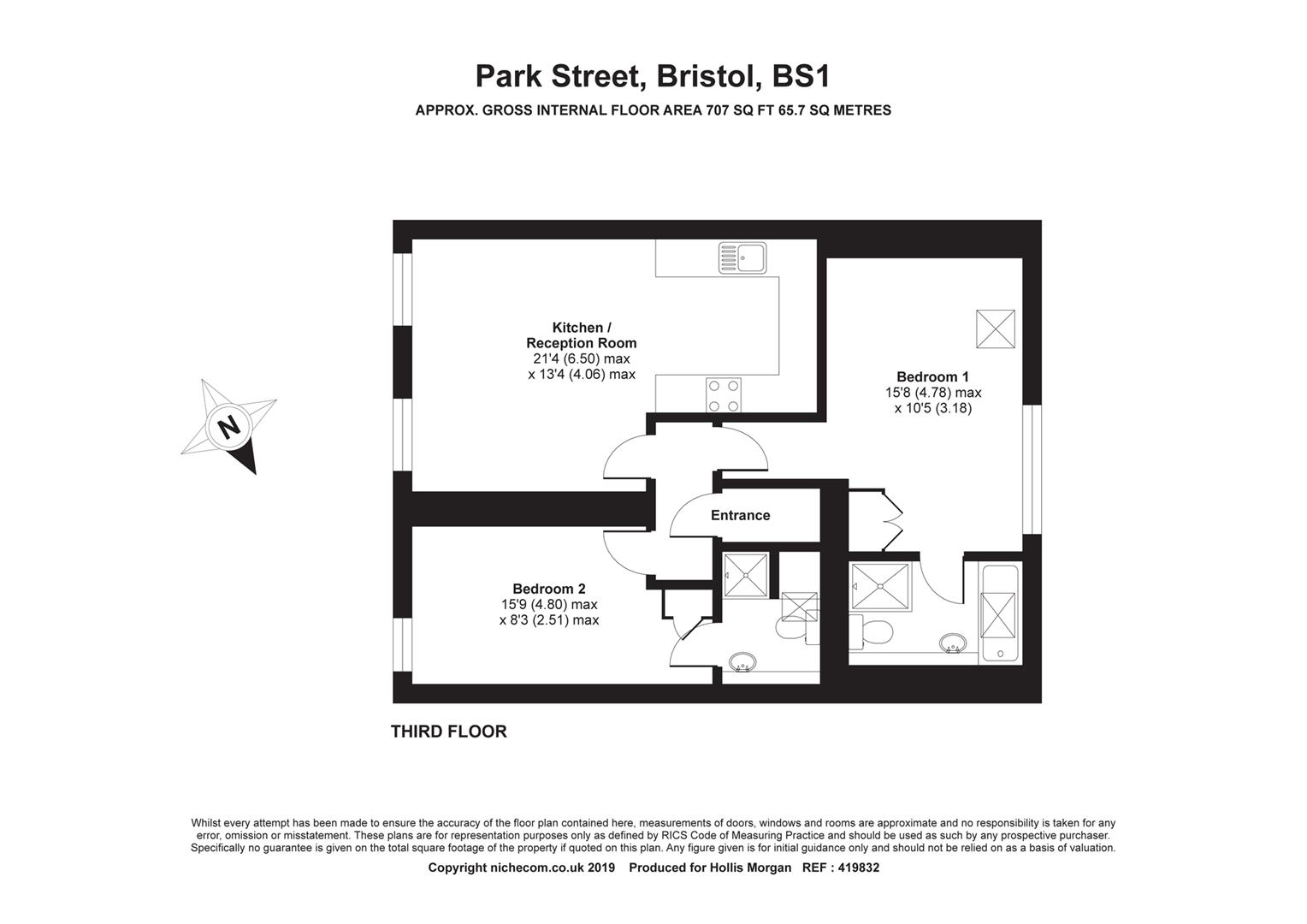 Floorplans For Park Street, Clifton