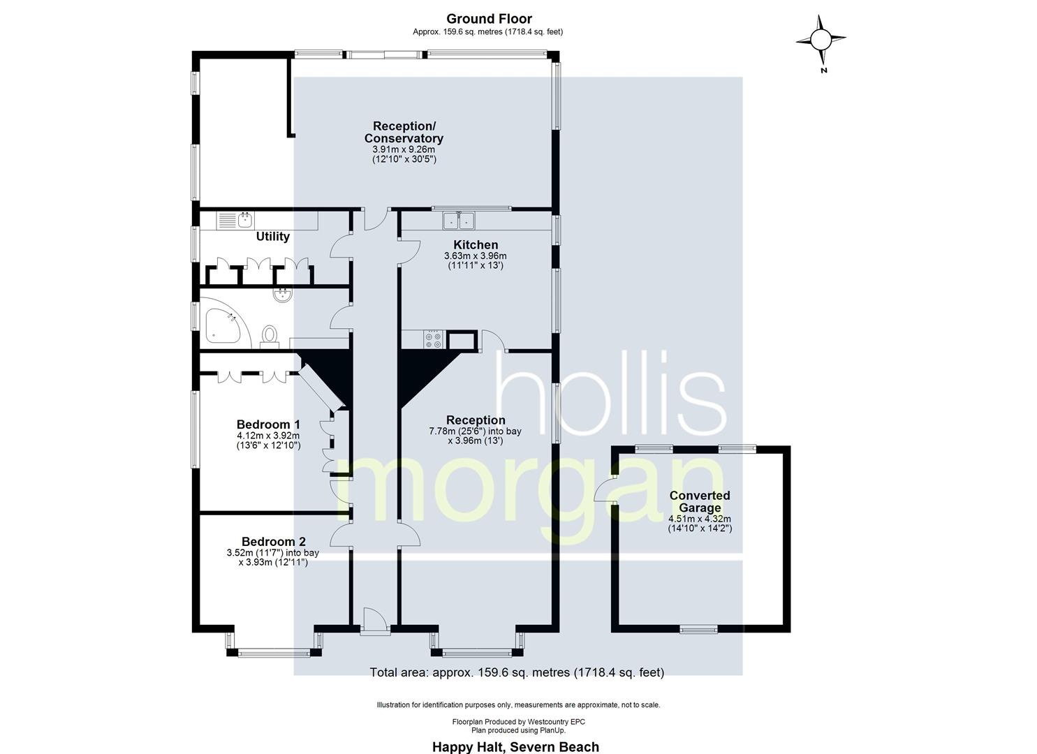 Floorplans For DETACHED BUNGALOW ON LARGE PLOT