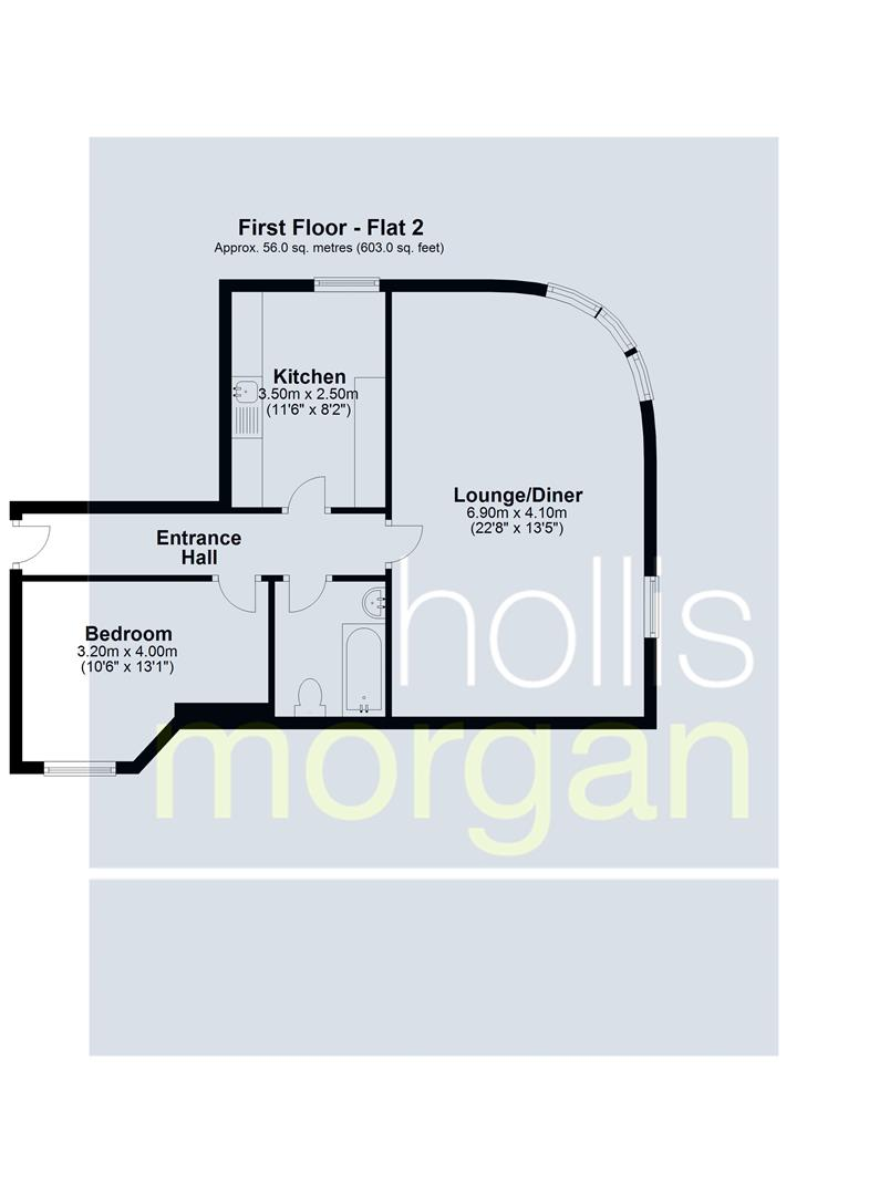 Floorplans For BLOCK OF 4 FLATS - AVONMOUTH