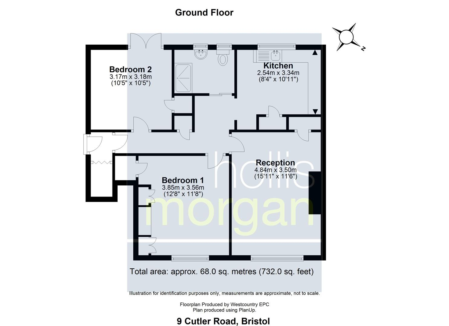 Floorplans For 2 BED FLAT - REDUCED PRICE FOR AUCTION