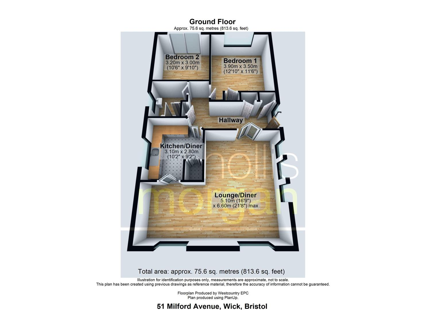 Floorplans For DETACHED BUNGALOW - REDUCED PRICE FOR AUCTION