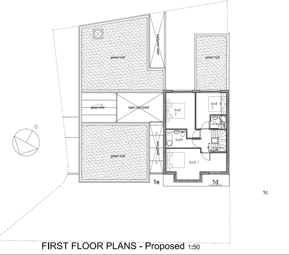 Floorplans For REDLAND DEVELOPMENT SITE - PLANNING GRANTED