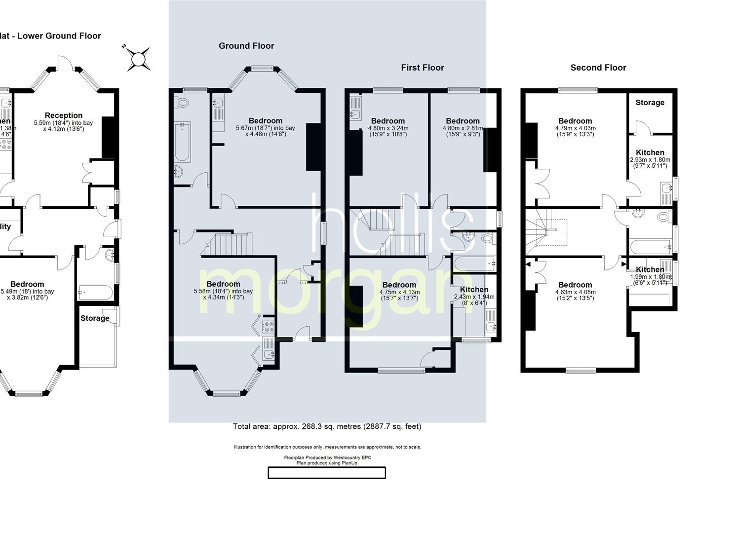 Floorplans For Hampton Road, Redland