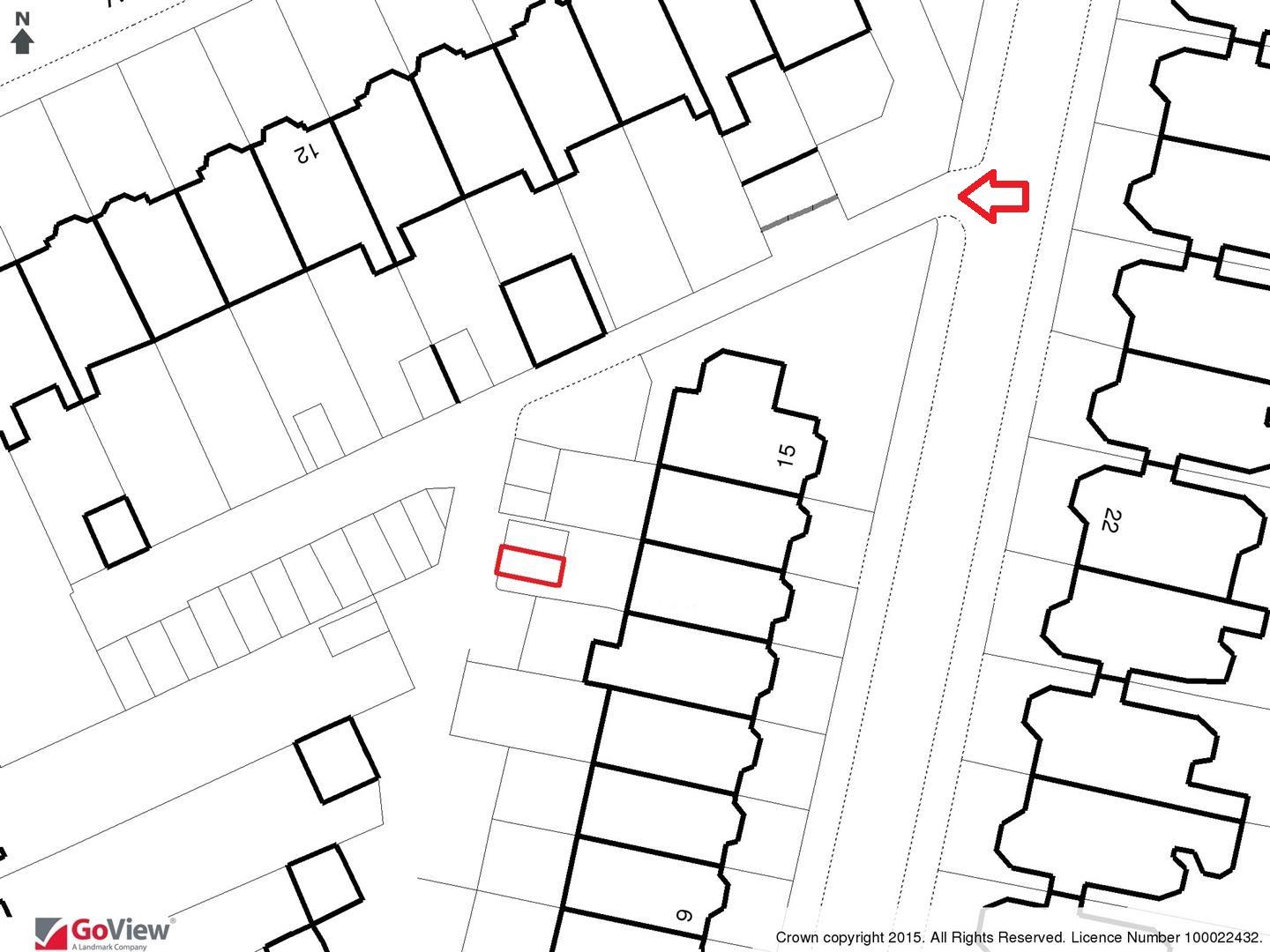 Floorplans For SINGLE GARAGE ON PRIVATE LANE - CLIFTON