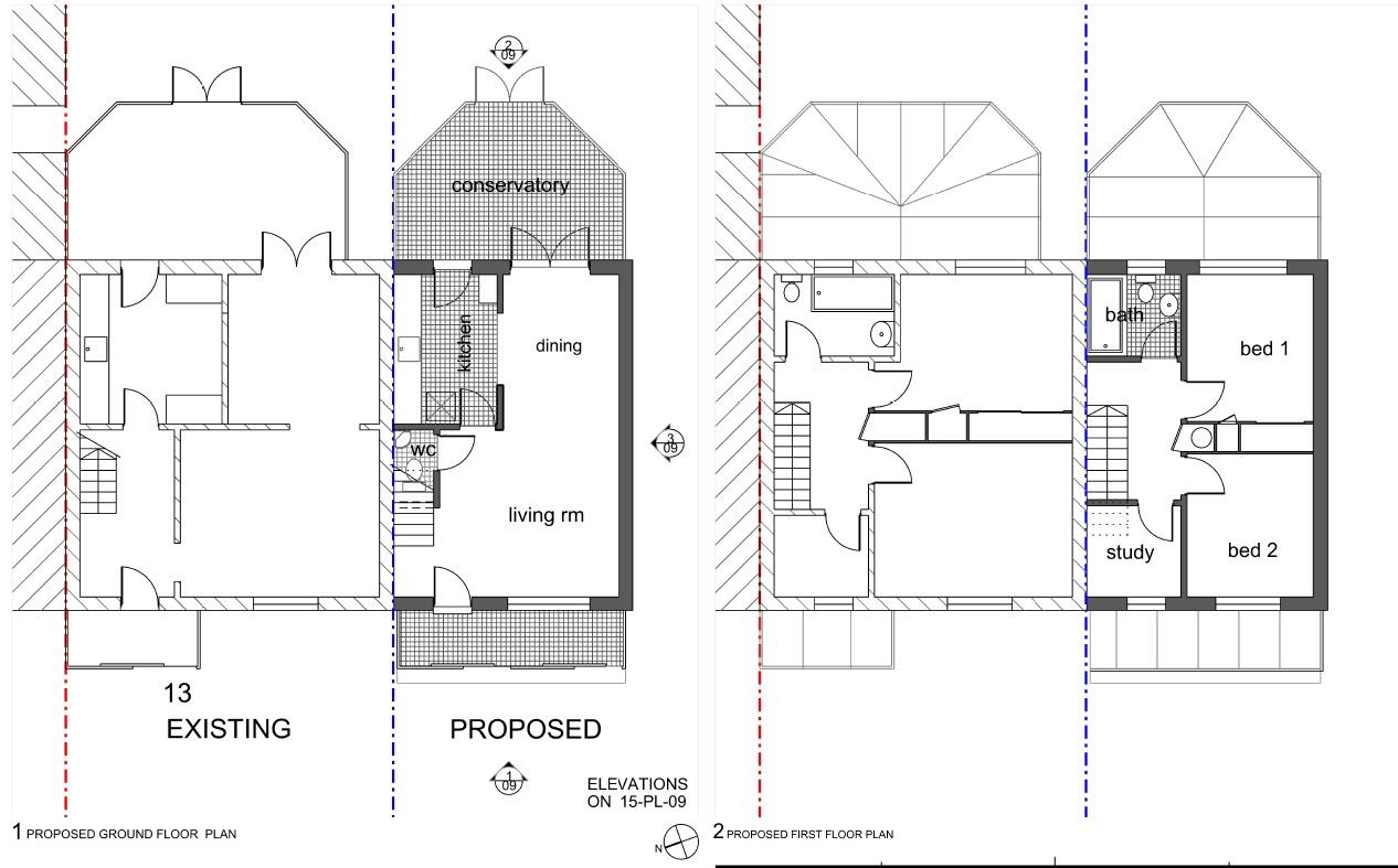 Floorplans For PLOT WITH PLANNING - BRISLINGTON