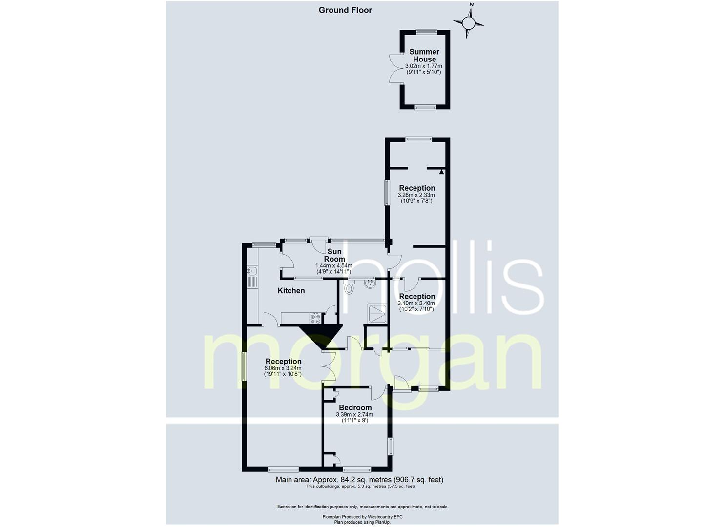 Floorplans For DETACHED BUNGALOW FOR MODERNISATION