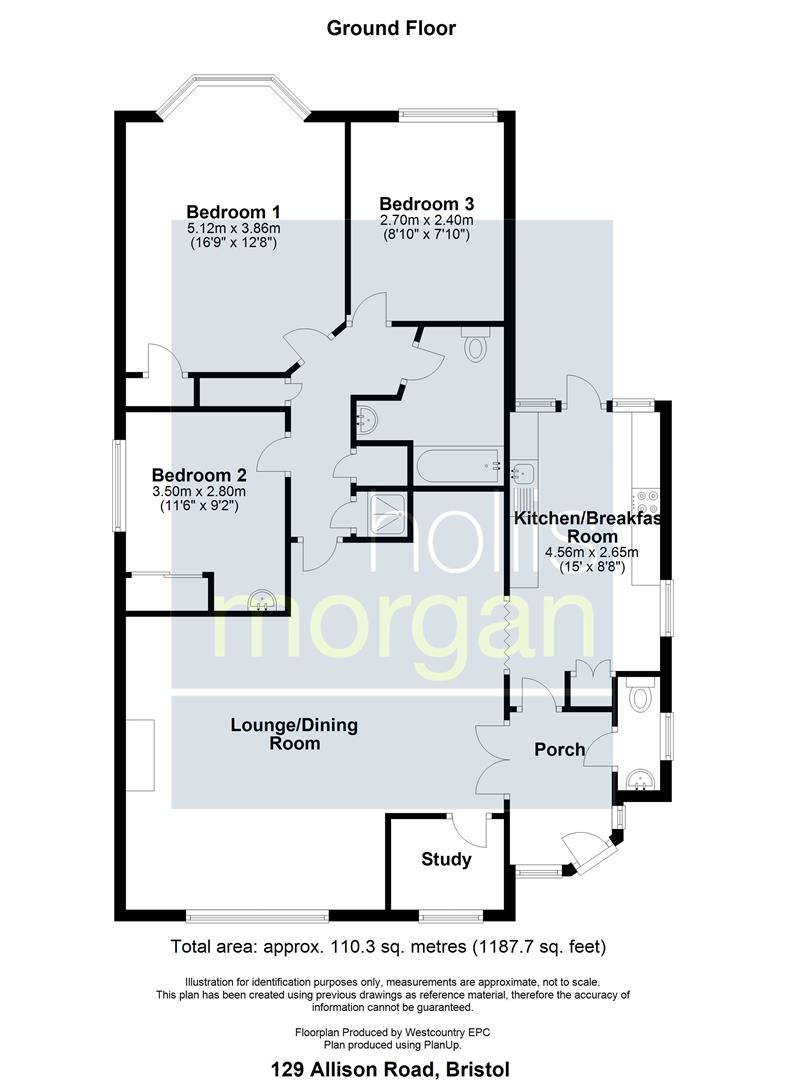 Floorplans For HOUSE FOR UPDATING - BRISLINGTON