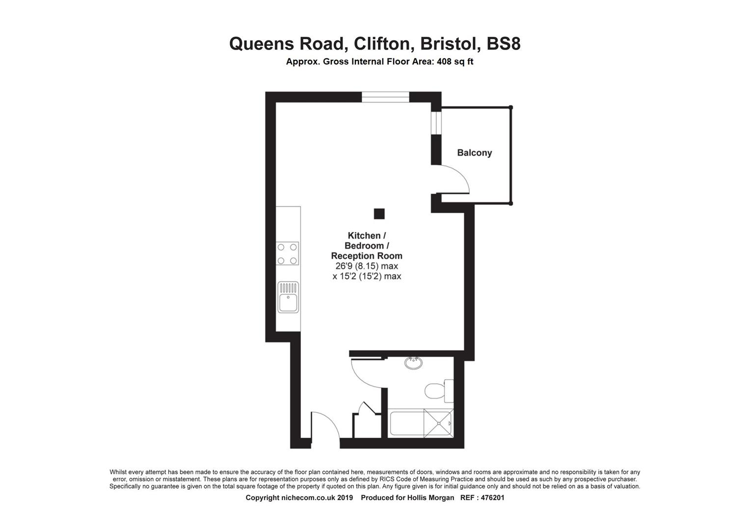 Floorplans For Queens Road, Clifton