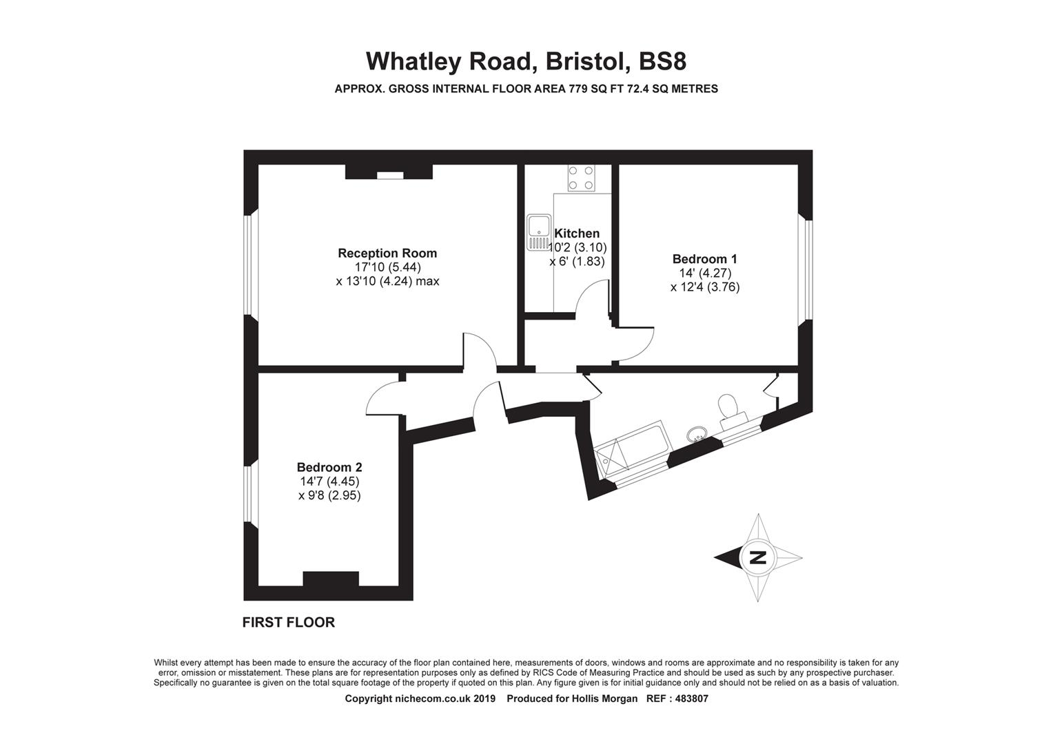 Floorplans For Whatley Road, Clifton