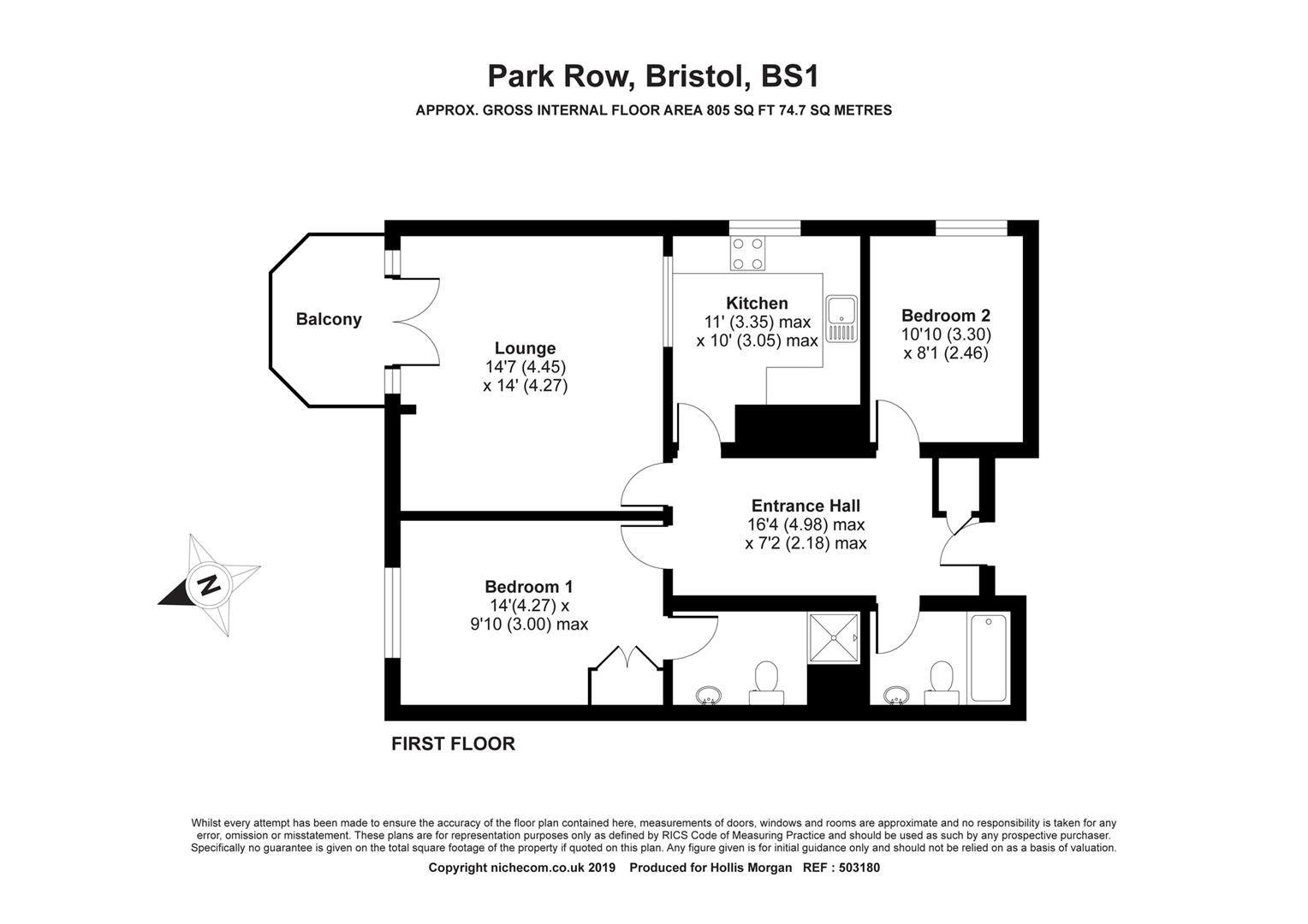 Floorplans For The Panoramic, Bristol