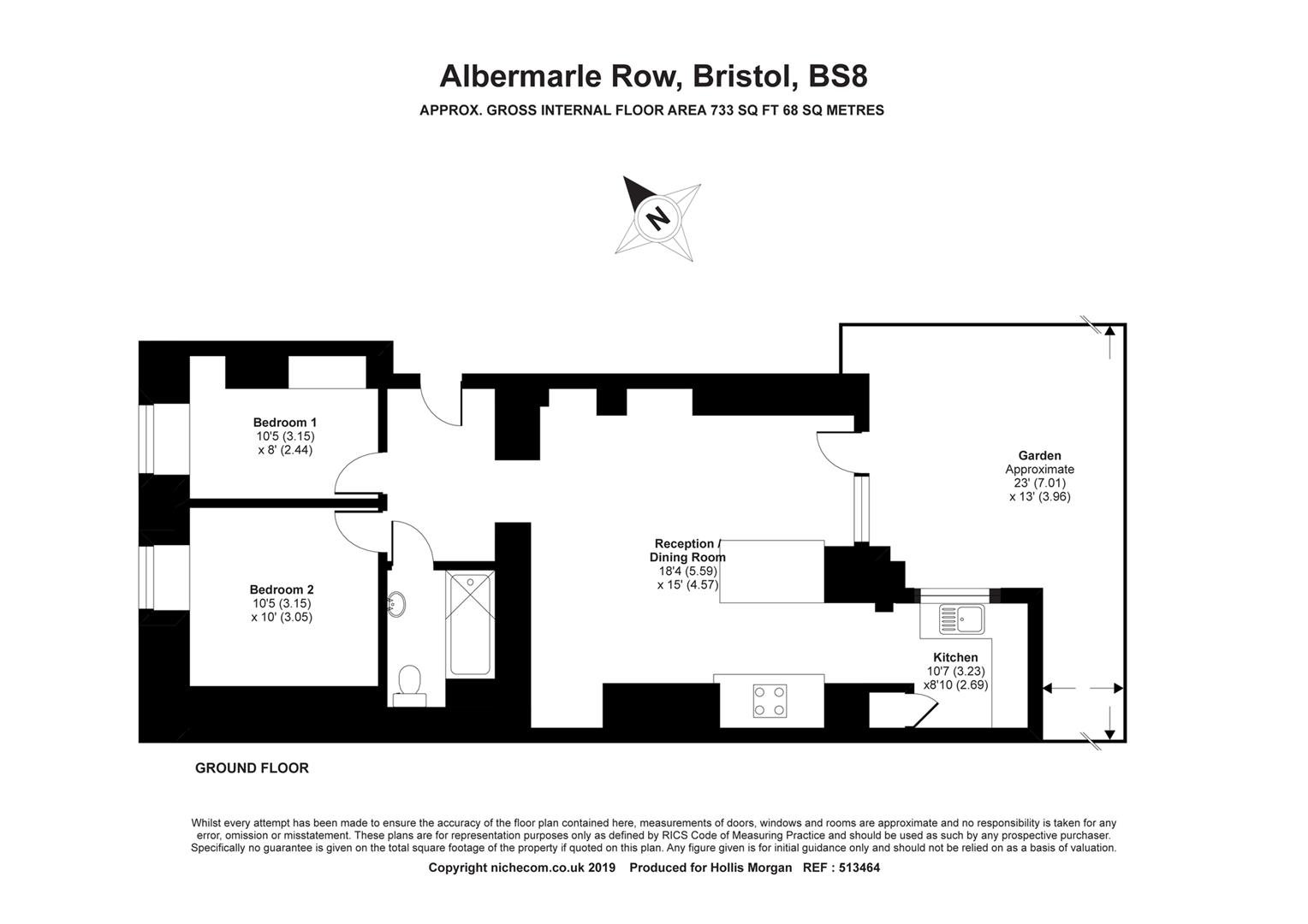 Floorplans For Albermarle Row, Hotwells