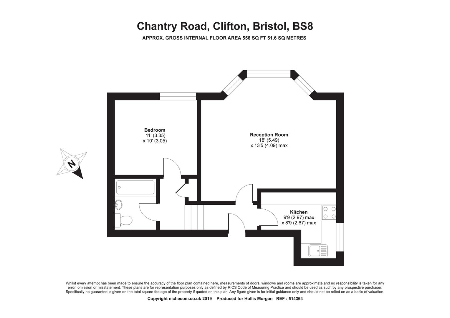 Floorplans For Chantry Road, Clifton