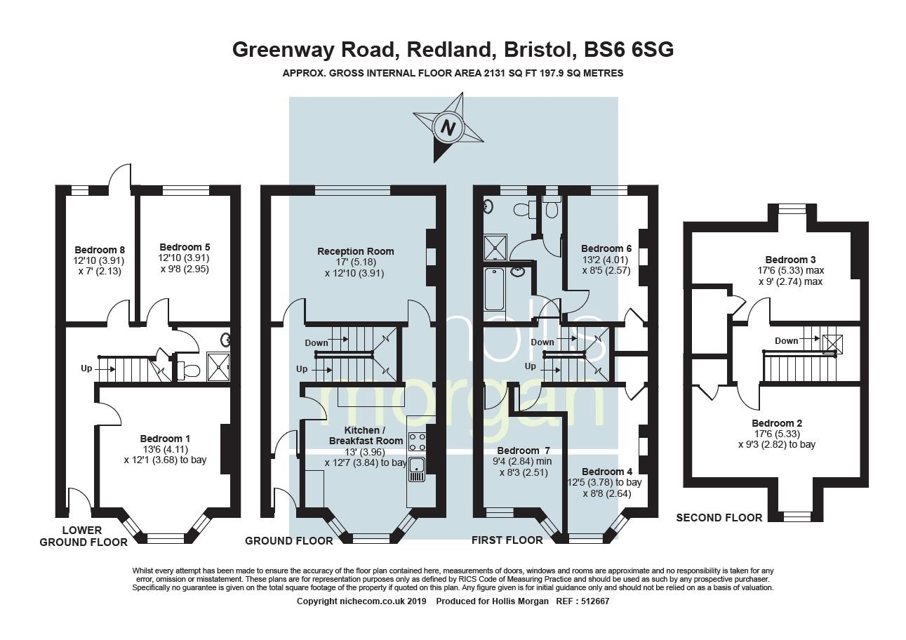 Floorplans For FAMILY HOME / HMO - REDLAND