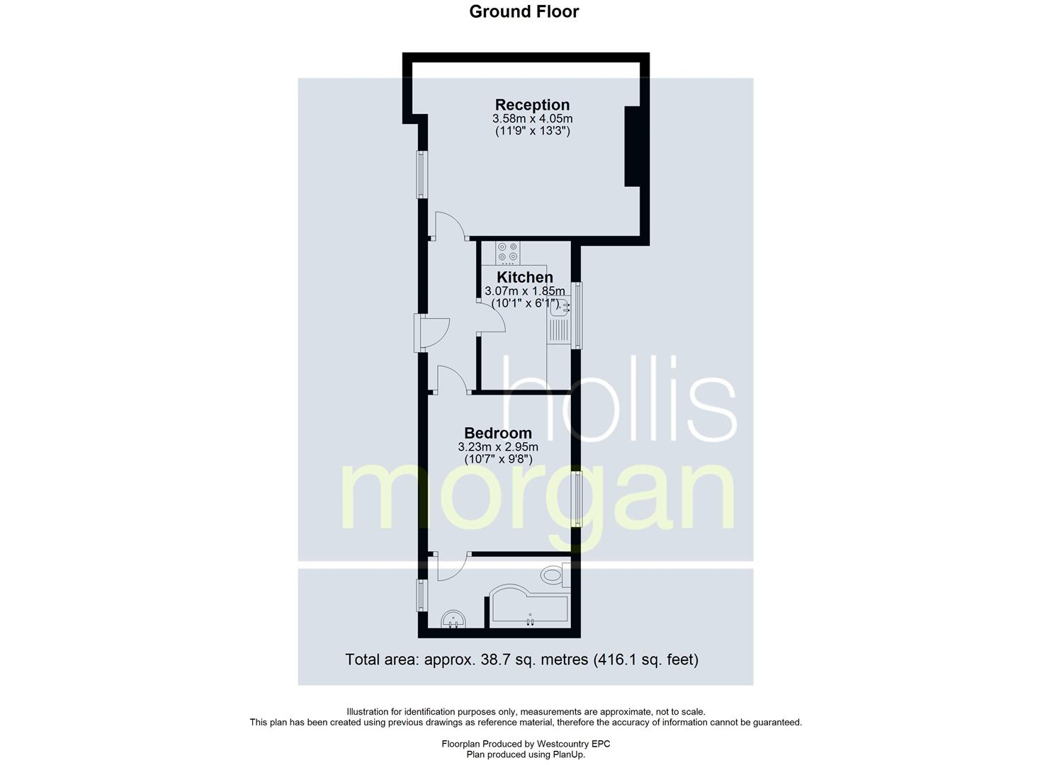 Floorplans For GARDEN FLAT - REDUCED PRICE FOR AUCTION