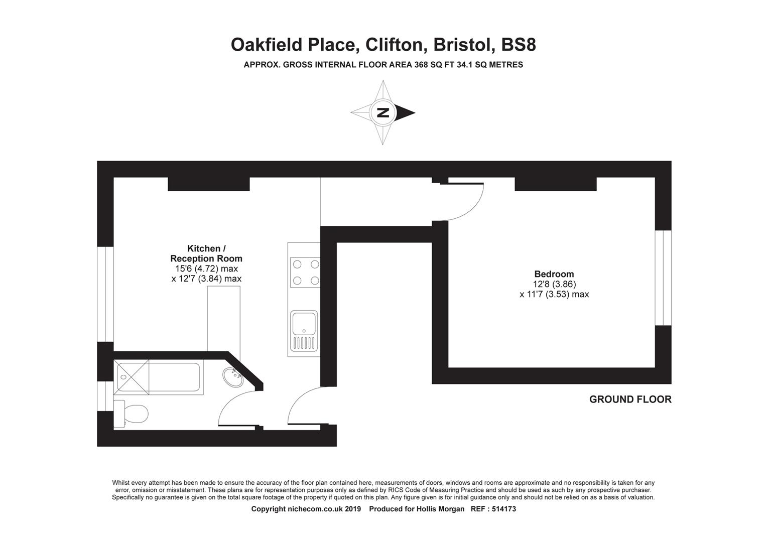 Floorplans For Oakfield Place, Clifton