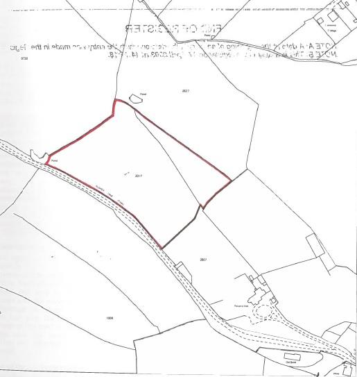 Floorplans For 5 ACRE PADDOCK / WOODLAND - LITTLETON ON SEVERN