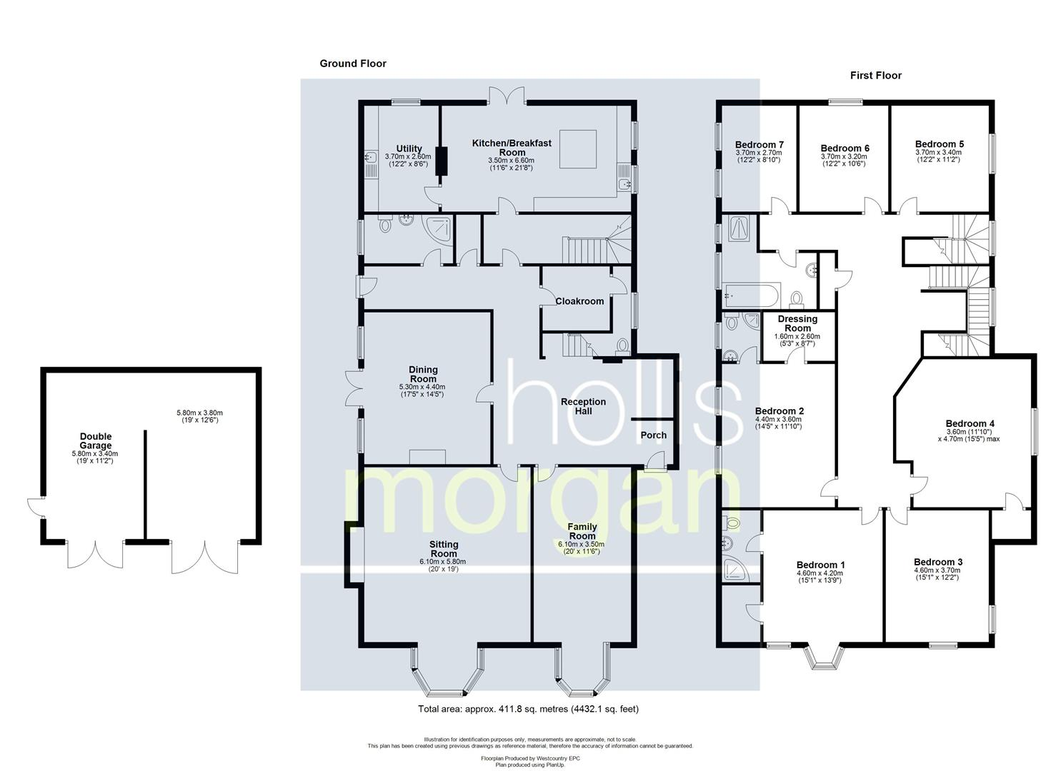 Floorplans For REDUCED FOR AUCTION  -  RENOVATED FAMILY HOME