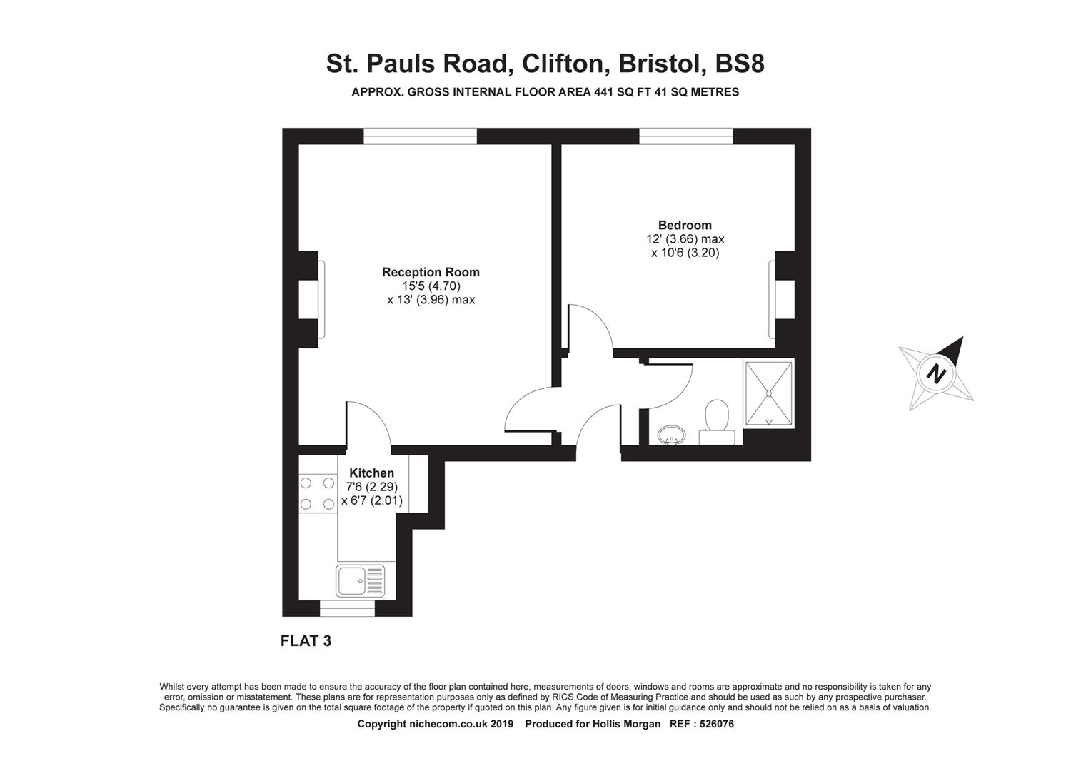 Floorplans For St. Pauls Road, Clifton