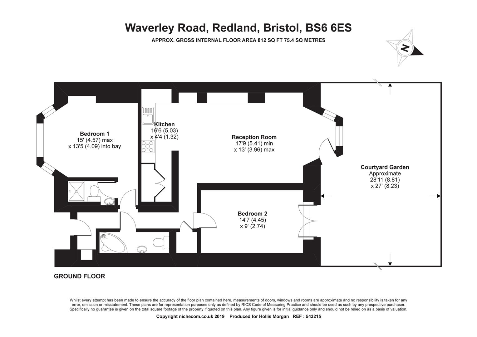 Floorplans For Waverley Road, Redland