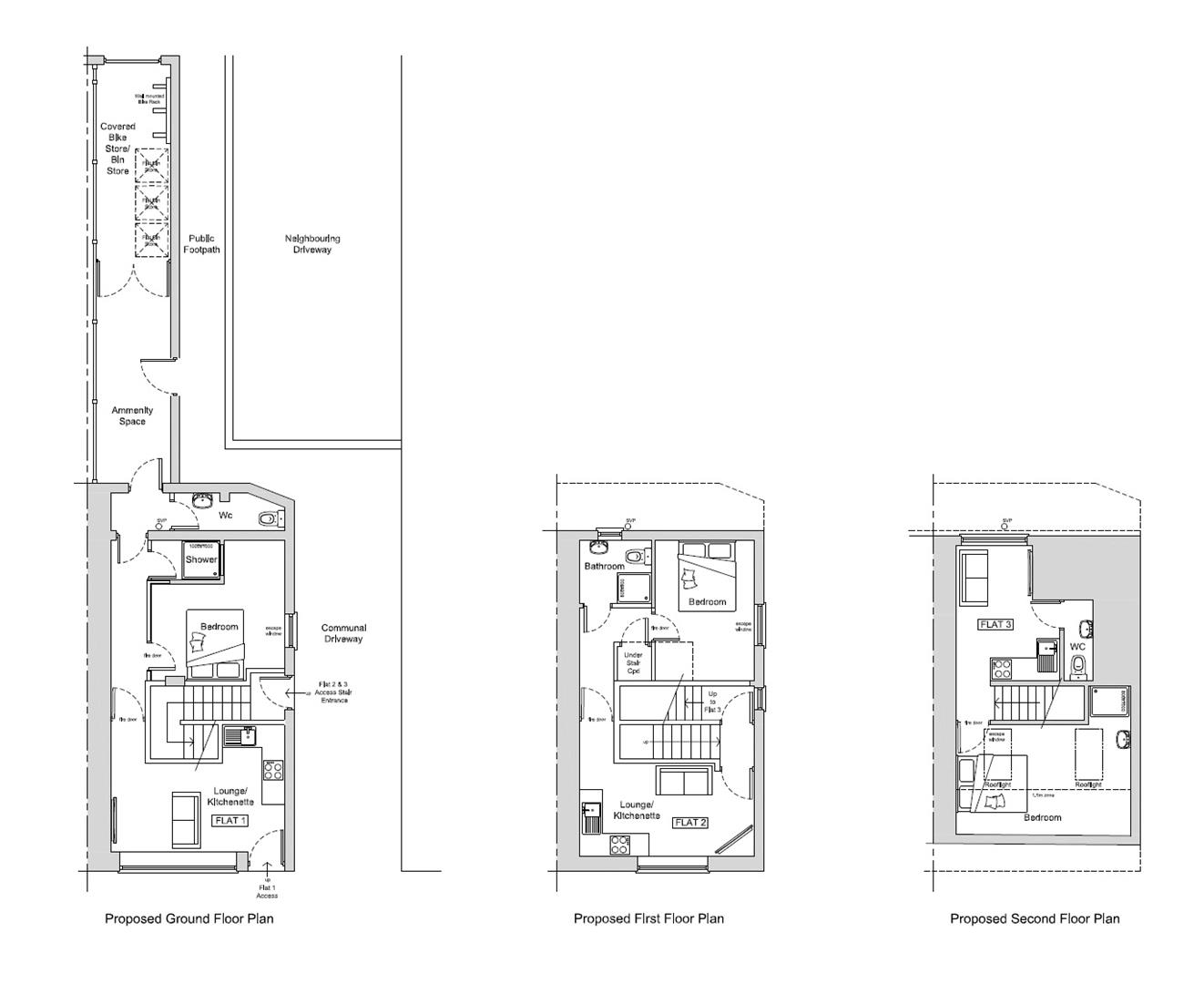 Images for PLANNING GRANTED - 3 FLATS EAID:hollismoapi BID:11