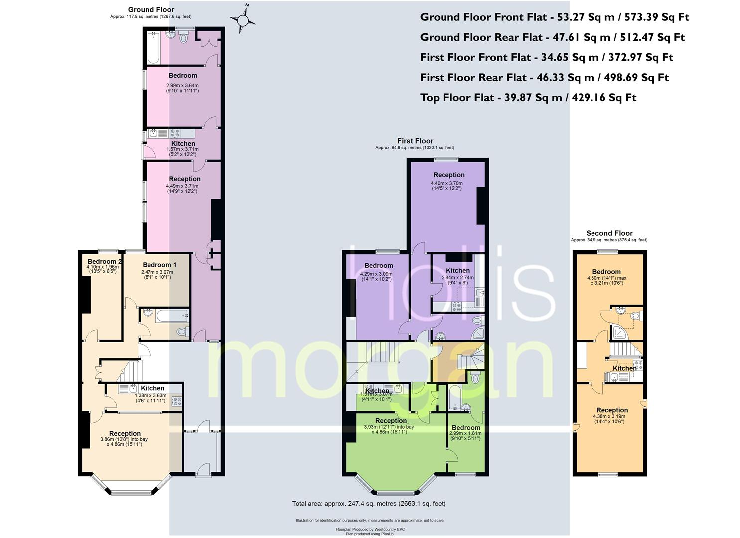 Floorplans For 5 FLATS / FAMILY HOME - WESTBURY PARK