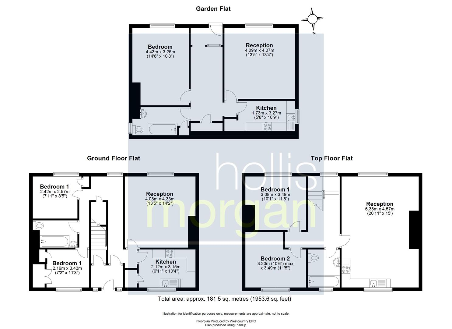 Floorplans For BLOCK OF FLATS + POTENTIAL - ST GEORGE