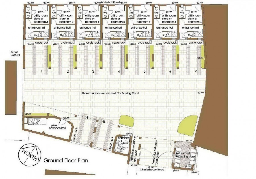 Images for PLANNING FOR 9 HOUSES - WHITEHALL EAID:hollismoapi BID:11
